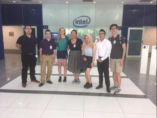 intel visit shanghai